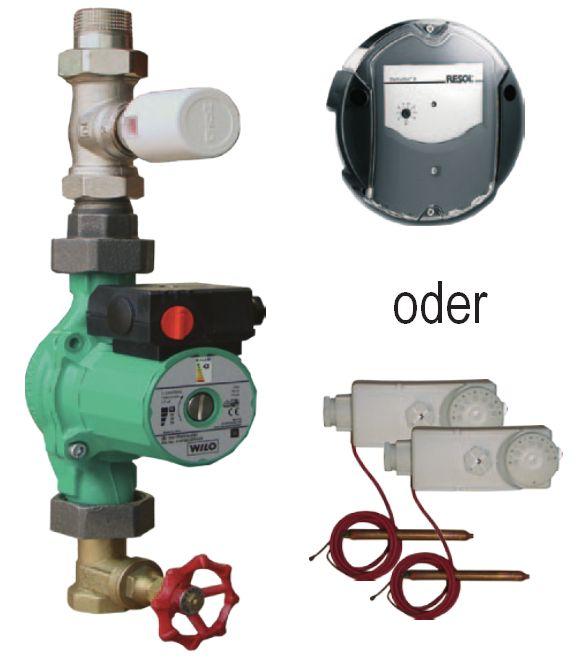 Boiler Ladeset ATMOS für Warmwasserbereitung aus Pufferspeicher Killus-Technik.de