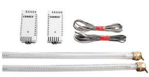 Correx Fremdstromanode für Edelstahlspeicher mit Potenziostat MP 1,9-924, 2 x Titanelektrode Ø 3 x 832 mm, M 8 x 30 zur isolierten Montage9 Killus-Technik.de
