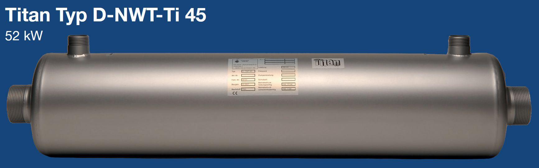 Daprà Niedertemperatur Titan Heizungs-Wärme-Tauscher D-NWT-Ti 45 kW Killus-Technik.de