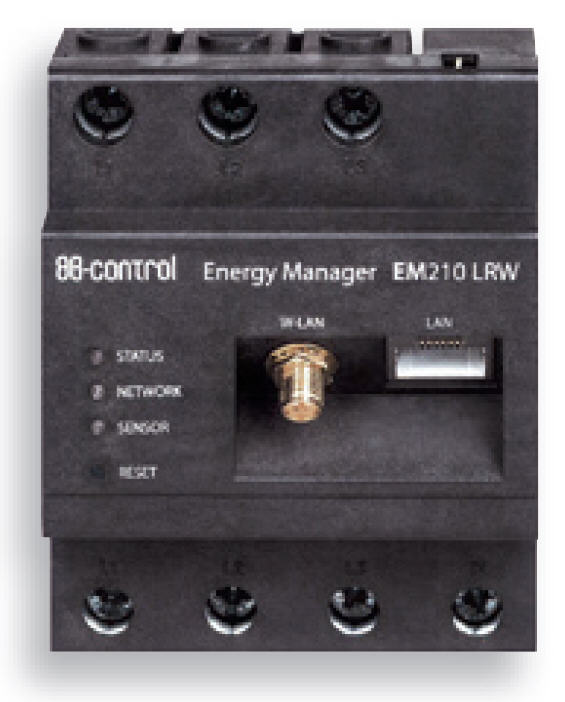 EfectHeater-AC Effekt-Heizer Energiemanager Energy Manager EM 210 für Durchlauferhitzer Edelstahl für Photovoltaik und Heizungen Killus-Technik.de