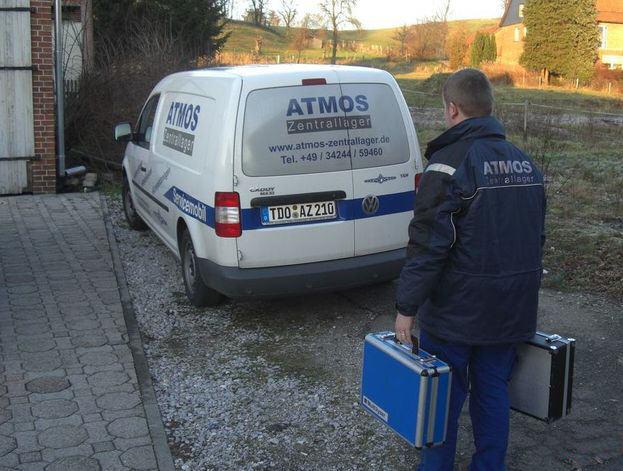 ATMOS-Zentrallager ServiceMobil Einstell- und Inbetriebnahme Service Killus-Technik.de