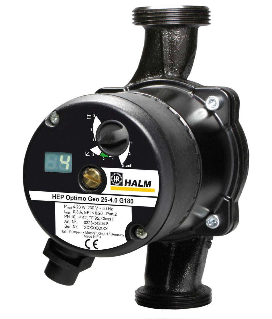 HALM Umwälzpumpe für Kaltwasser, Klima- und Kältetechnik HEP Optimo GEO 4m und 6m Killus-Technik.de