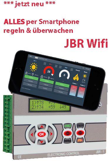 JBR im Internet mit WIFI einstellen und überwachen Tablet Smartphone PC für ATMOS Heizungskessel Killus-Technik.de
