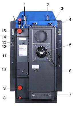 ATMOS Kohlevergaser KC25S Killus-Technik.de