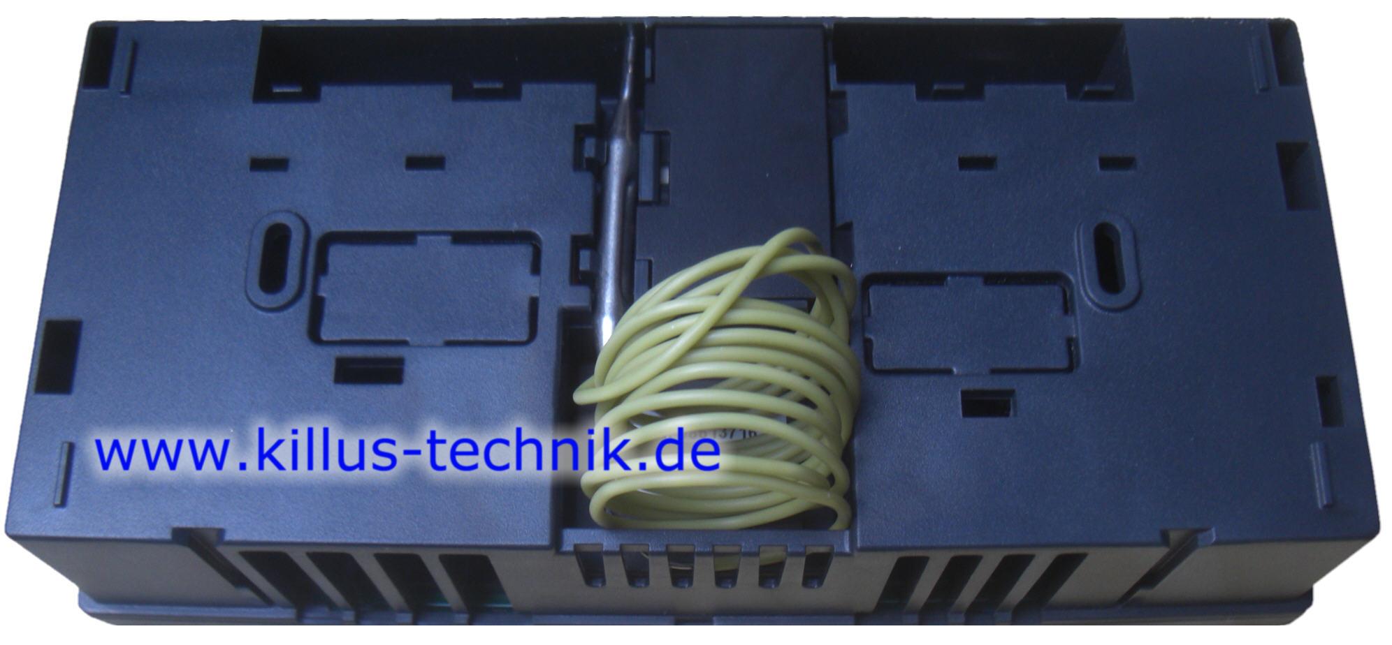 KSF-Pro Unterseite mit STB Sicherheitstemperaturbegrenzer Kapillarfühler Steuerung Ölkessel Killus-Technik.de