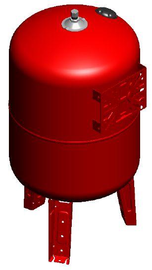 Maxivarem LS CE Ausdehnungsgefäß für Druckerhöhungssysteme mit EPDM Membrane und Edelstahlflansch VAREM 50 bis 750 Liter Killus-Technik.de
