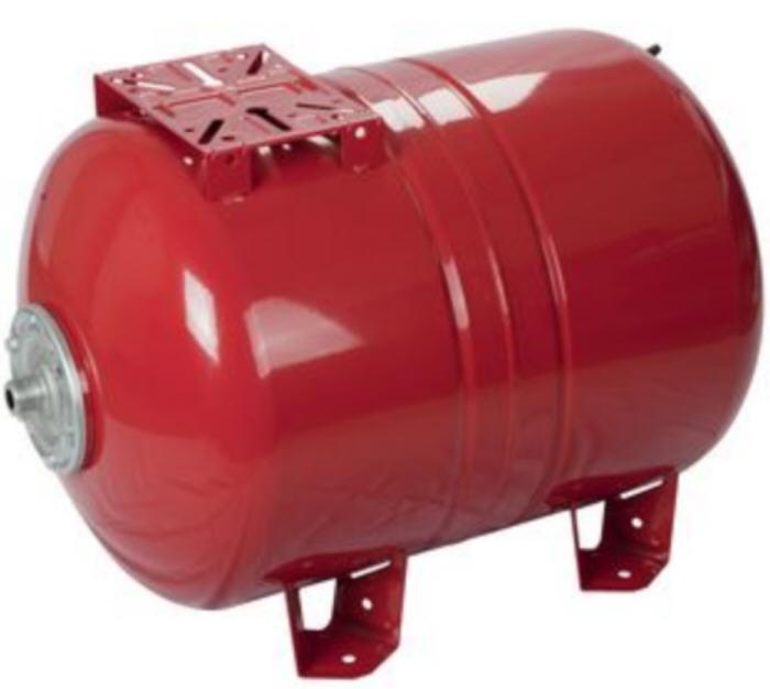 Maxivarem LS liegendes Ausdehnungsgefäß für Druckerhöhungssysteme mit EPDM Membrane und Karbonstahlflansch VAREM Killus-Technik.de