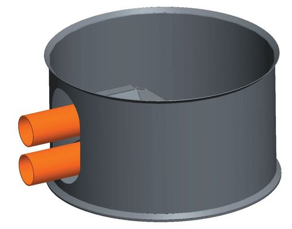 killus technik silotec holzpellets silo hps 165 2 1 bis 5 2 tonnen mit entnahmetopf silotec. Black Bedroom Furniture Sets. Home Design Ideas