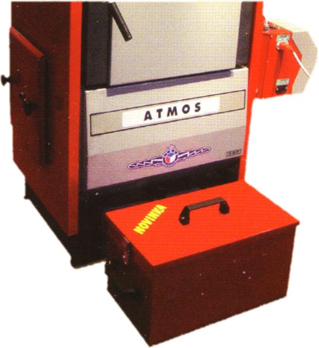 ATMOS Pelletkessel D15 - 45P automatische Ascheaustragung Killus Technik