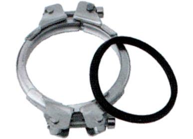 Pellets-Rohr Spannring Killus-Technik.de Pelletheizung Atmos