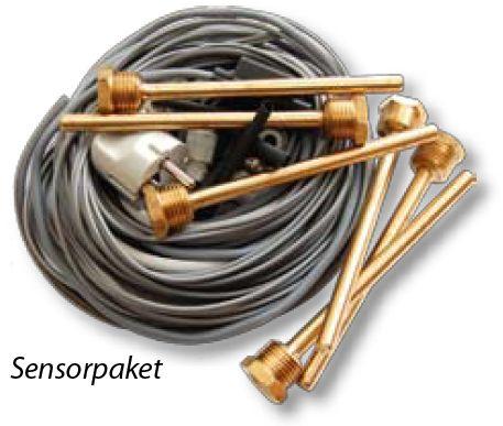 Sensorpaket  für frei programmierbaren Universalregler Technische Alternative Solaranlagen Drain-Back UVR1611 Killus-Technik.de