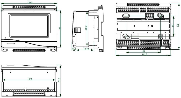 UVR16x2 Konsole Frei programmierbarer Universalregler UVR16x2 Technische Alternative Solaranlagen Drain-Back Hydraulik Heizung Steuerung Killus-Technik.de