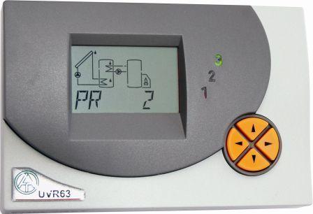 Dreikreis Universalregler UVR63 Technische Alternative Solaranlagen Drain-Back Killus-Technik.de