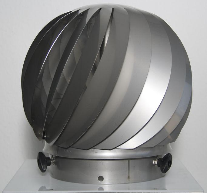 AirMaster® Schornsteinventilator aus Edelstahl windgetrieben Madac Killus-Technik.de