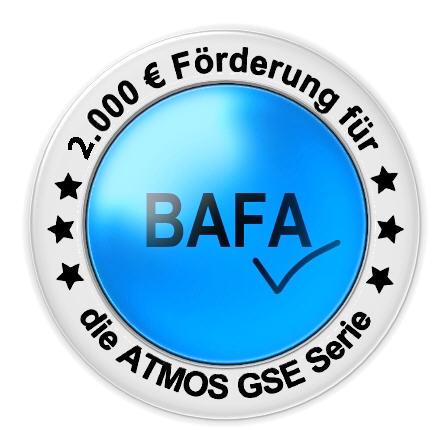 ATMOS Holzvergaser BAFA Förderung 2000 EUR Killus-Technik.de