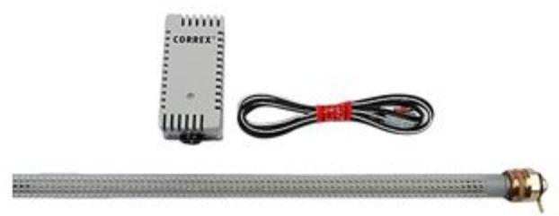 Correx Fremdstromanode Set 2 für Edelstahlspeicher inklusive Potenziostat UP 1,9-900 für emallierte Speicher 3/4