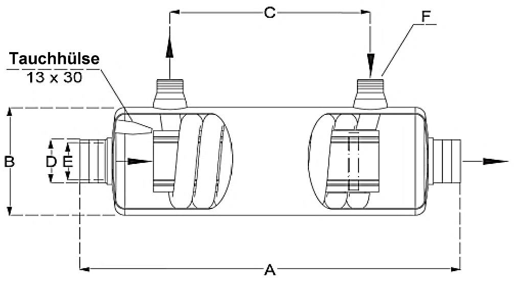 Abmessungen Daprà Edelstahl Niedertemperatur Heizungs-Wärme-Tauscher D-NWT 18 kW Querschnitt Killus-Technik.de.jpg
