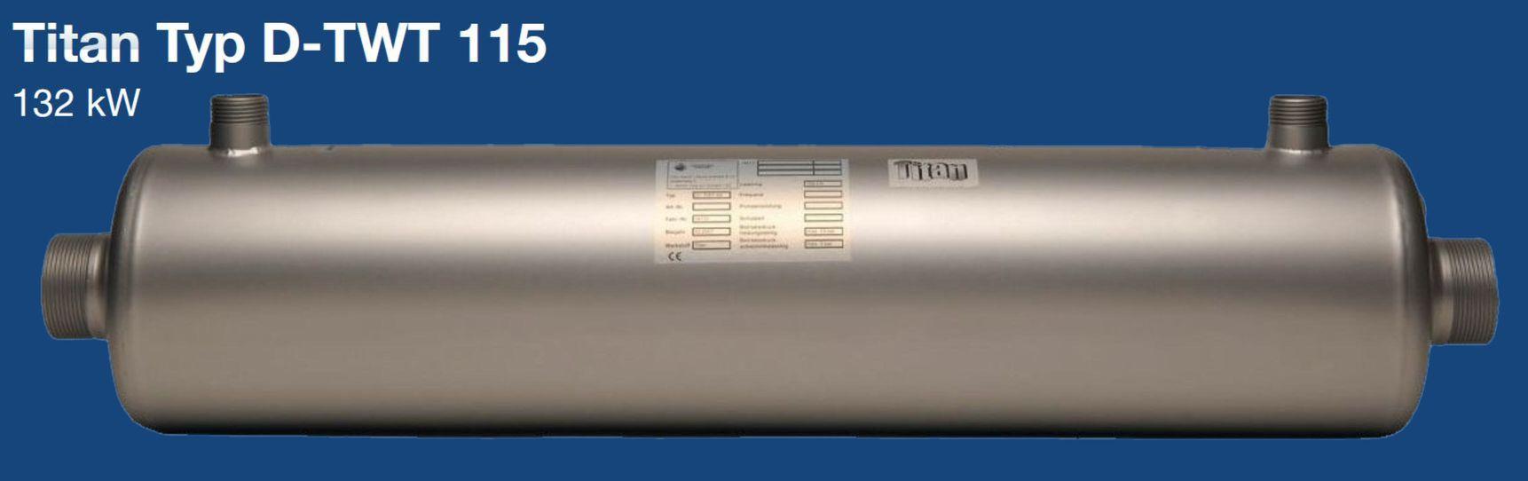 Daprà Titan Heizungs-Wärme-Tauscher D-TWT 115 kW Killus-Technik.de