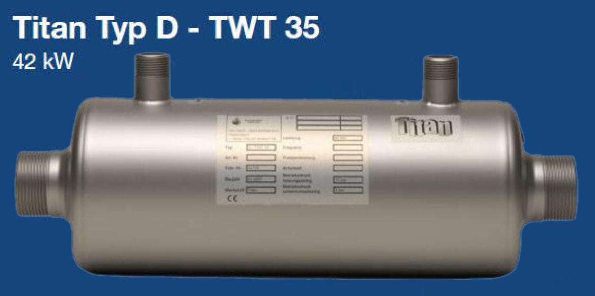 Daprà Titan Heizungs-Wärme-Tauscher D-TWT 35 kW Killus-Technik.de