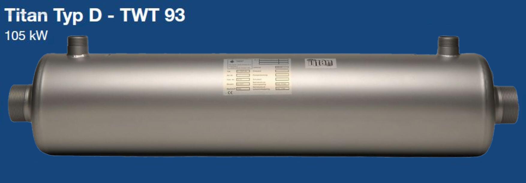 Daprà Titan Heizungs-Wärme-Tauscher D-TWT 93 kW Killus-Technik.de