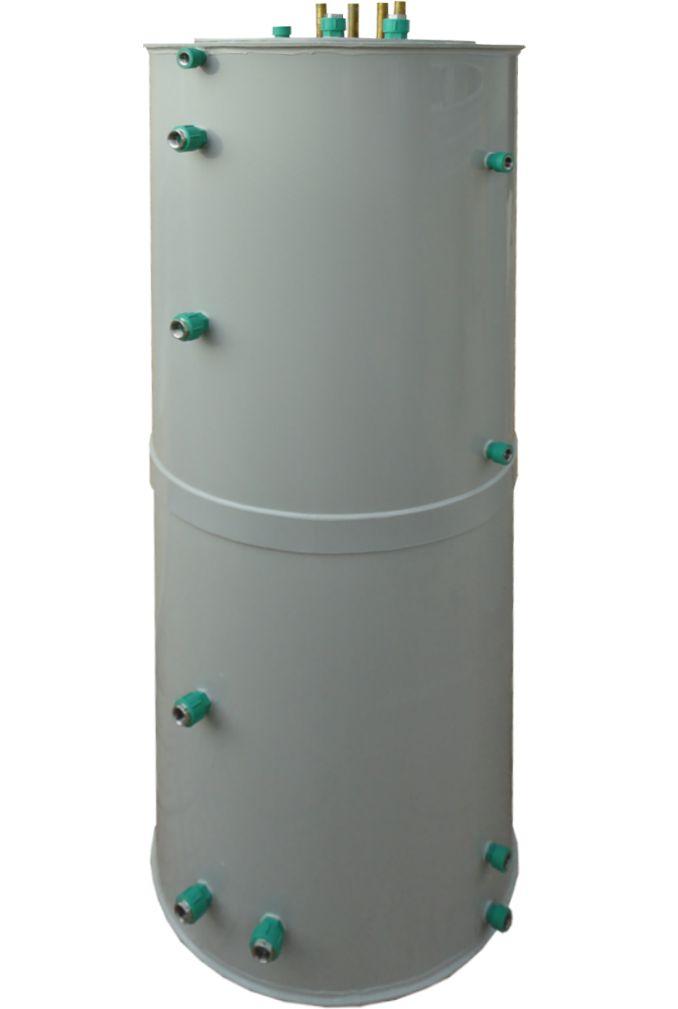 Kunststoff Drain-Back Entleerungs-Solar-Hyhiene-Pufferspeicher 1000 Liter BunkSolar Killus-Technik.de