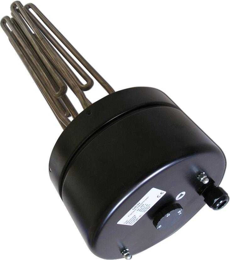 Elektro-Heizstab für Flanschmontage