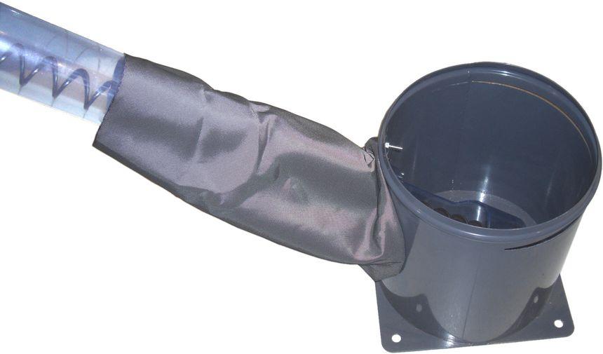 Silotec: Der richtige Absaugtrog ist ein wichtiges Zubehör, damit Ihr Hozpellets-Silo genau für Ihr Vorhaben geeignet ist. Absaugtopf für Schneckenentnahme Killus-Technik.de