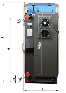ATMOS Holzvergaser GSX Abmessungen Killus-Technik.de