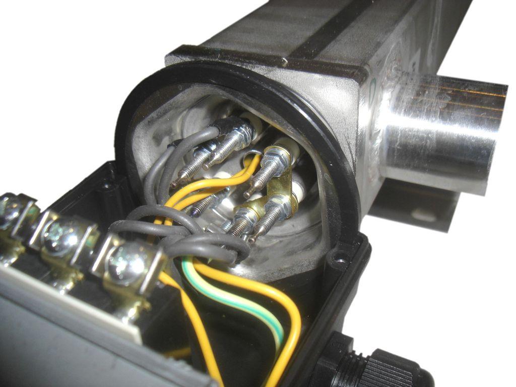Schraubanschlüsse Heizwiderstände DEW-Durchlauferhitzer DLE für PV-Anlagen Killus-Technik.de