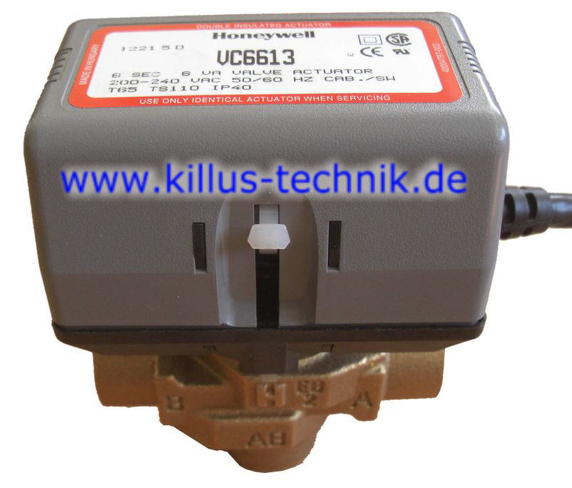 Honeywell-3-Wege-Ventil Killus-Technik.de