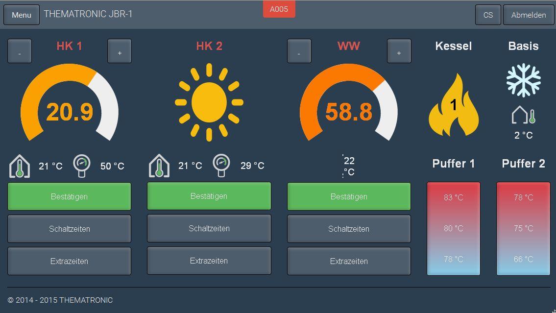 JBR im Internet mit WIFI einstellen und überwachen für ATMOS Heizungskessel Killus-Technik.de