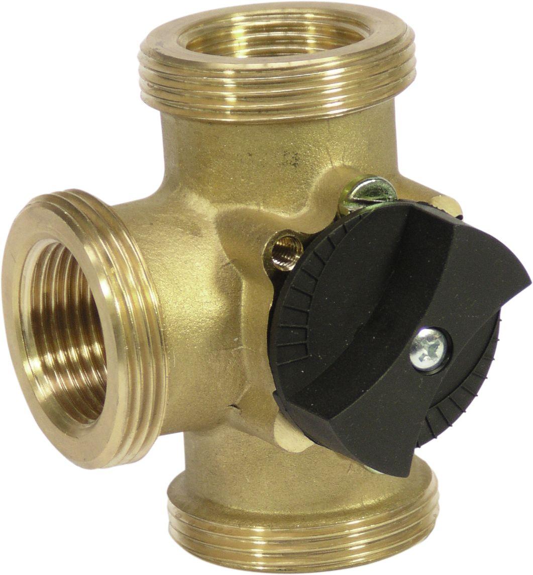 WITA 3-Wege Heizungsmischer für Stellmotore und Handbetrieb 1