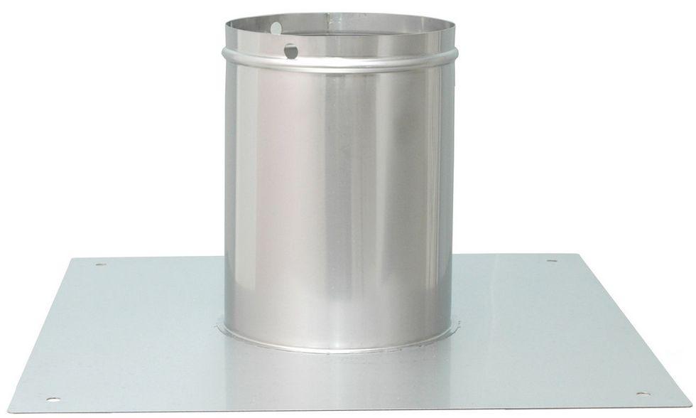 Montageplatte für AirMaster® Schornsteinventilator aus Edelstahl windgetrieben Madac Killus-Technik.de