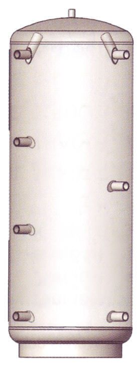 ATMOS Pufferspeicher ohne Wärmetauscher mit Vliesisolierung 120 mm Typ PAP Killus-Technik.de