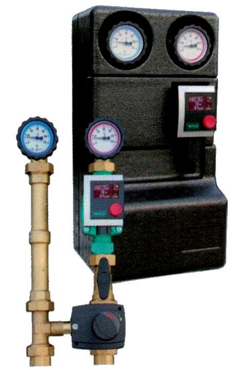 Pumpengruppe HK1 ATMOS mit Wilo Pumpe RS 25/4, RS 25/6, Pico 25 1-4 oder Pico 25 1-6 Killus-Technik.de