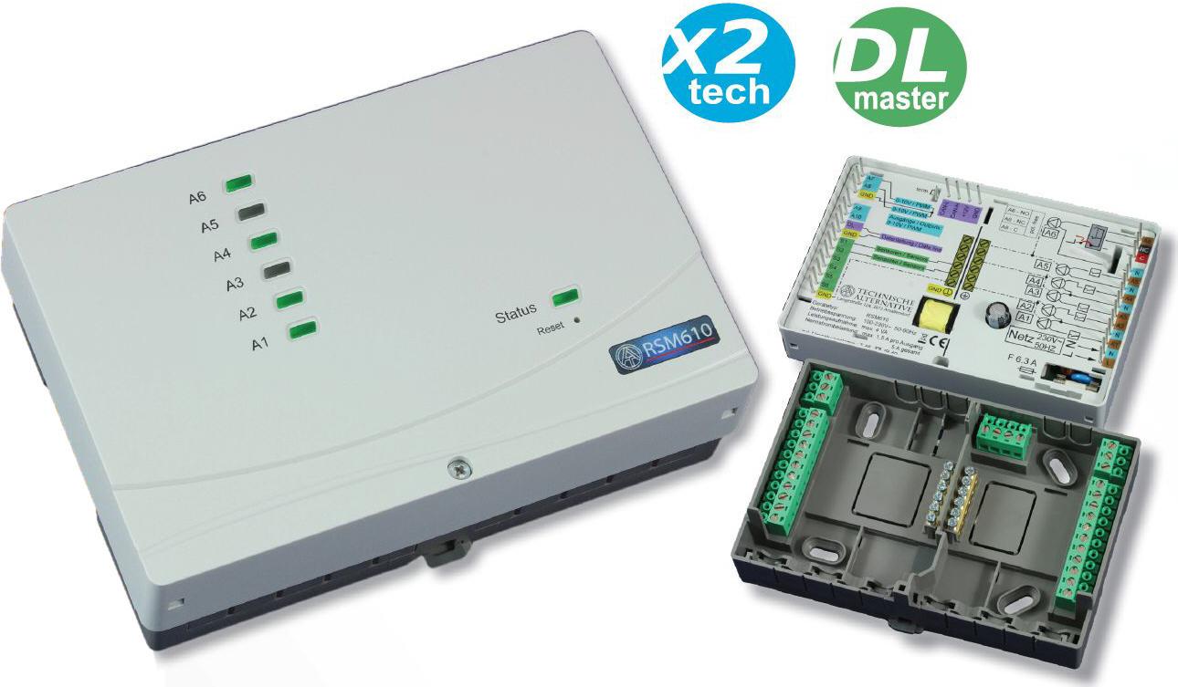 Frei programmierbares Regel- und Schaltmodul RSM610 TA Technische Alternative Killus-Technik.de