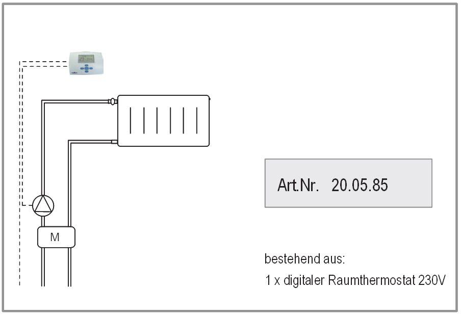 Raumthermostat Anbindung Variante 1 ATMOS Killus-Technik.de