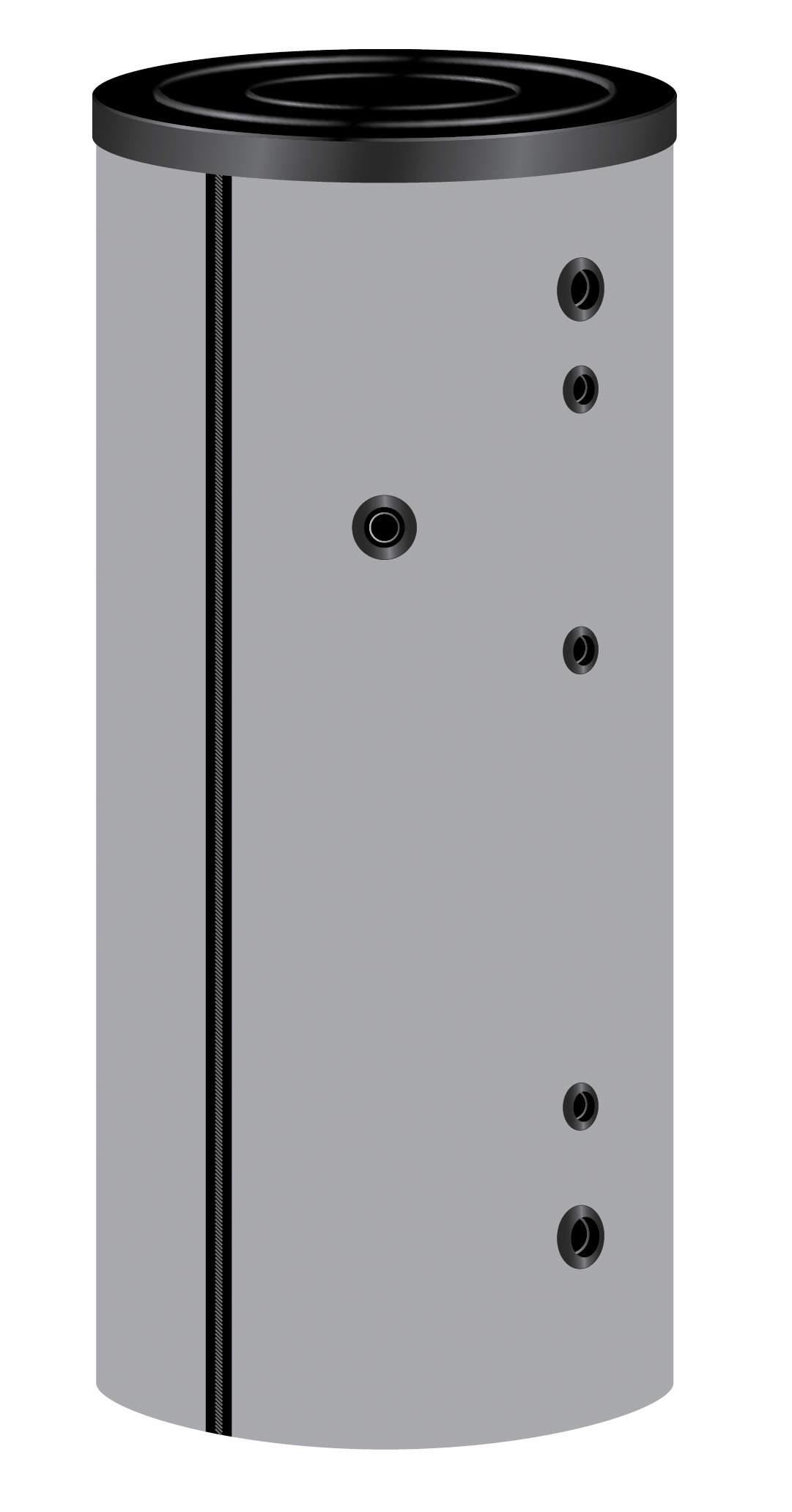 TWL Emaillierter Standspeicher 500 Liter mit Weichschaumisolierung und Skymantel Killus-Technik.de