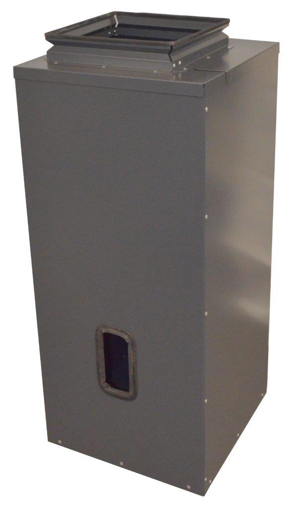 Unterbehälter Tagesbehälter 300 Liter VACU-SLIM Pelletsauger Silotec Killus-Technik.de