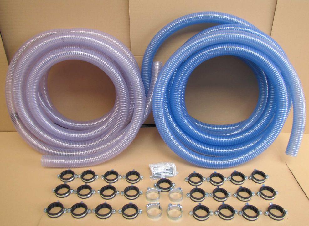 Saugschlauch-Paket für pneumatische Pelletsausförderung Silotec Killus-Technik.de