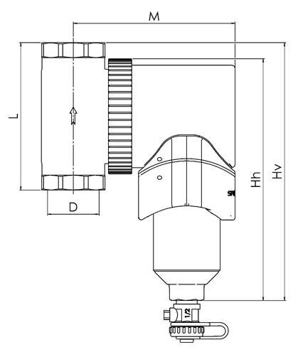 Abmessungen Spirotrap MBL drehbar Killus-Technik.de