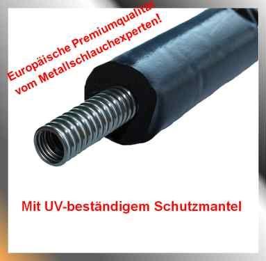 Edelstahl Solar- und Montage-Wellrohr einfach Rattay Killus-Technik.de