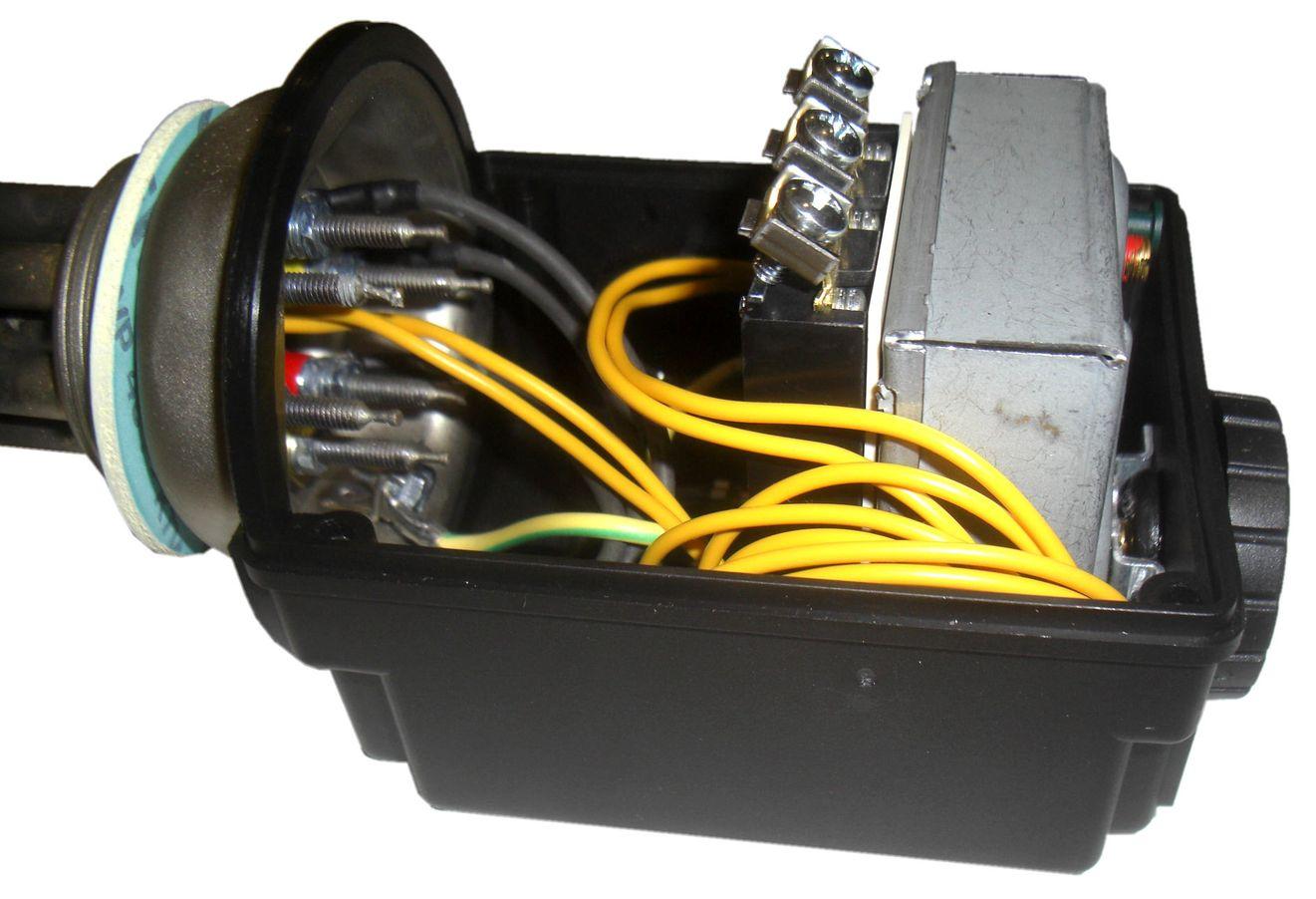 Vario-Heizer-PV variabler Elektroheizstab 0,5 - 3,5 kW Anschlüsse innen Edelstahl für Photovoltaik und Heizungen Killus-Technik.de